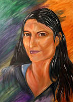 Modern Day Mona by RayvenOGiger