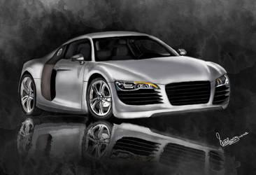 Audi R8 by natiwar02