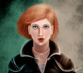 Lady by natiwar02