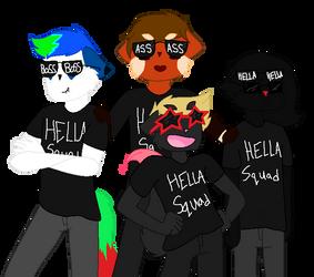 Xmas with the hella squad by WarriorCatsFan22