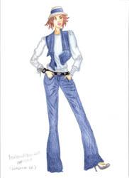 Fashion Drawing 1 by VampAngel79