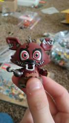 Mystery Mini Nightmare Foxy by TheFnafBrony