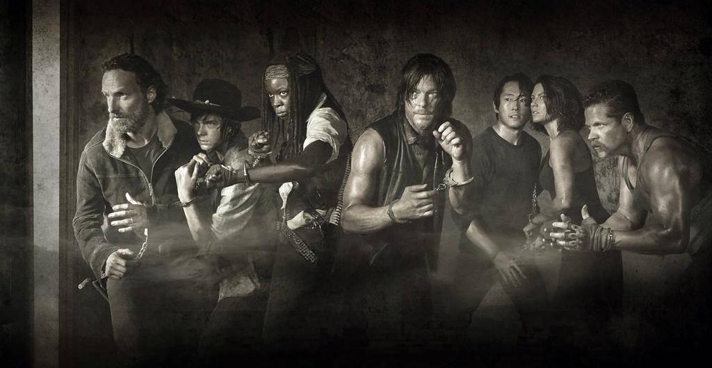 Walking Dead Season 5 Poster Sw Wallpaper By Atomicxmario On Deviantart