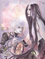 Karl and Ilanar by spiderlady