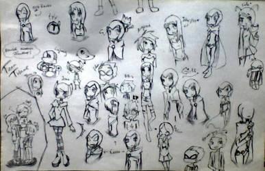 random TT doodles by HeLlArT14