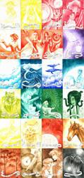 Watercolour range palette by fenifire