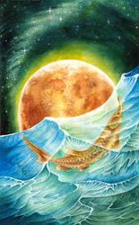 Sturgeon Moon by fenifire