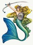 Polish Legends - Mermaid of Warsaw by fenifire