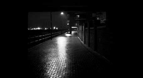 Eerie corridor by whitewolfislove