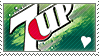 7 Up love stamp by rainbeos