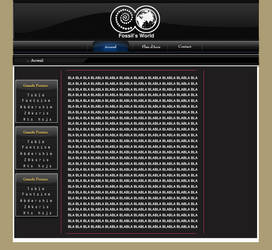 fossils-world interface by zaki7410