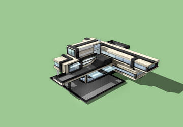 Architekturmodell 1 by Dick3rl3