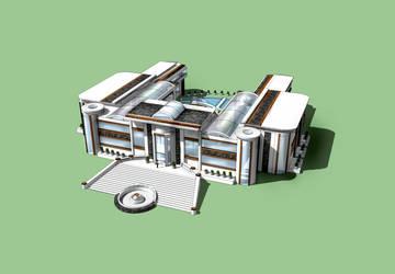Architekturmodell 2 by Dick3rl3