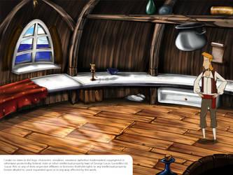 Monkey Island Scene by Dick3rl3