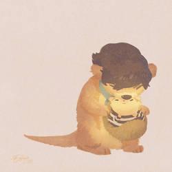 Snuggle by almond-goddess
