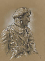 War memorial : Bic pen ,markers and white pencil by wimke