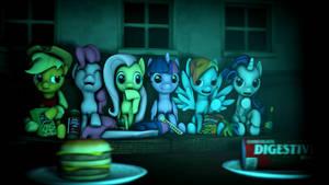 Movie Night by glaze15