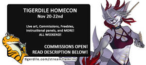 HOMECON - COMMISSIONS OPEN by Temrin