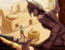 [C] - Desert Ruins by Temrin