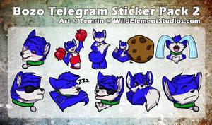 [C] - Bozo Telegram Sticker Pack #2 by Temrin