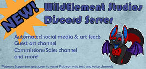 NEW: Discord Server for Fans! by Temrin