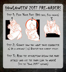 Howloween 2017 Badge Preorders are OPEN! by Temrin