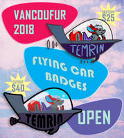 VancouFur 2018 Pre-orders OPEN! by Temrin