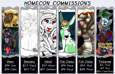 HomeCon Commissions - OPEN! by Temrin