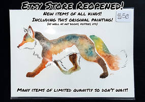 Etsy Store REOPENED! by Temrin