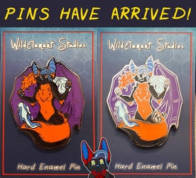 The Pins Have Arrived! by Temrin