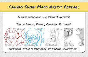 CSZ Mass Artist Reveal Issue 3 by Temrin