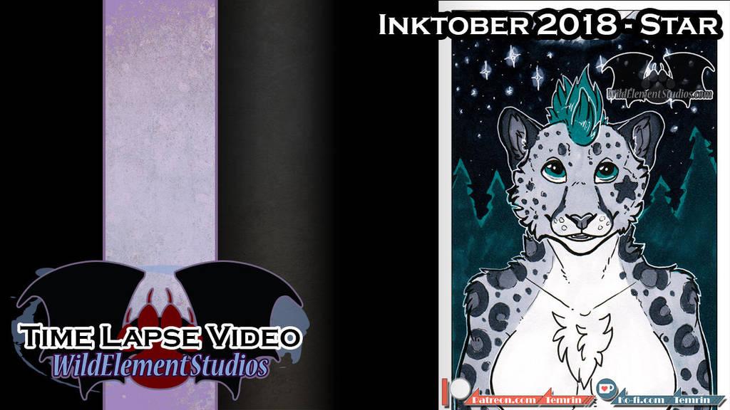 [VIDEO] - Inktober 2018 - Star/Kirsten by Temrin
