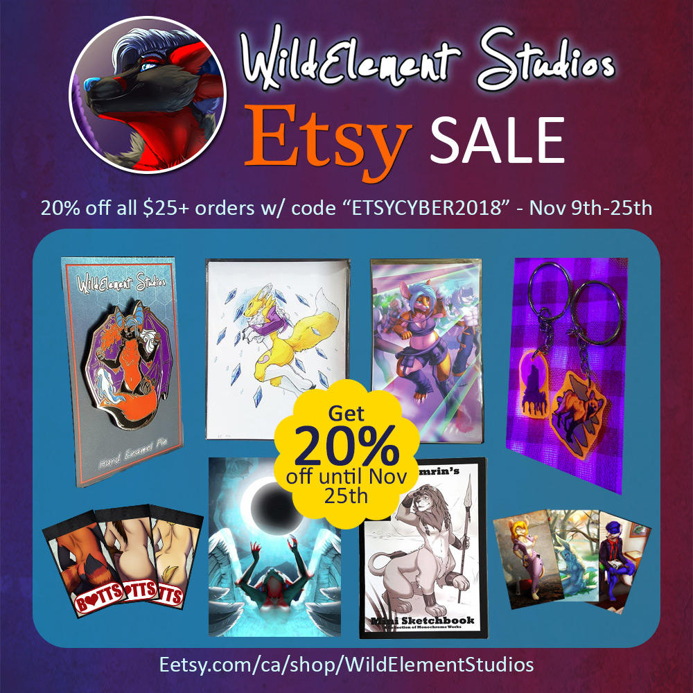 2+ Week Etsy Sale! by Temrin