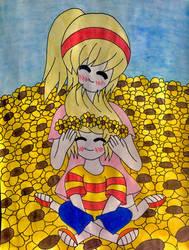 Lucas x Nana by StarshineLove186