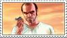 Trevor Phillips stamp by horses27