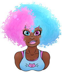 Cotton Candy by NatsArtAndCreations