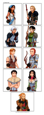 Champions and Heroes: Alternatives by Ddriana