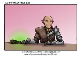 Champions and Heroes: Happy Valentine's Day by Ddriana