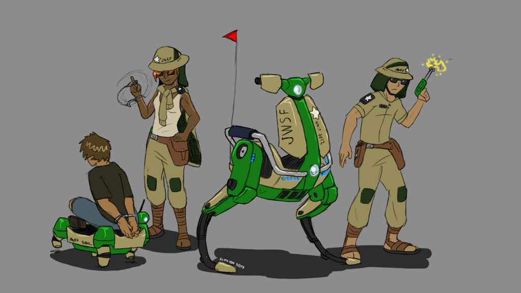 Security Force concept by ScottaHemi