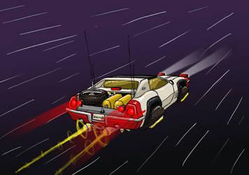 Unidentified Flying Corvette by ScottaHemi