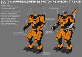 SAF Industries Prototype Type 015 by ScottaHemi