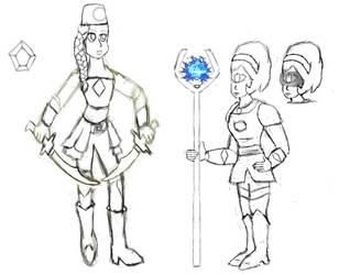 Blue Diamond Warriors by R-Doll