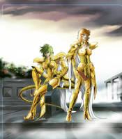 Gold girls by liruohai