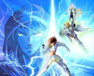 Zeus and Angles by liruohai