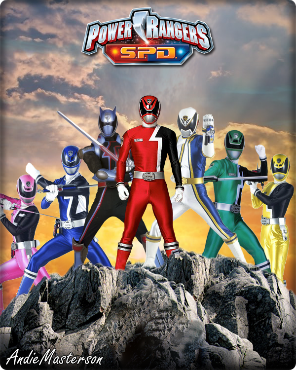 Power Rangers Spd By Andiemasterson On Deviantart