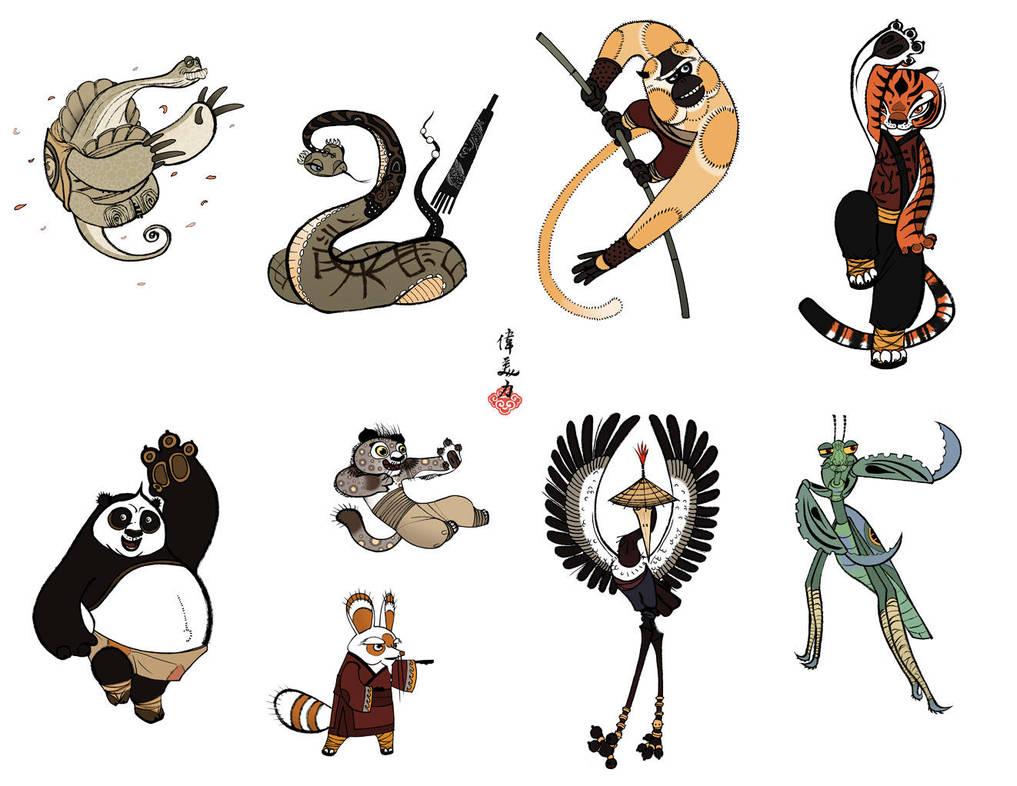 Kun Fu Prints :D by CheiftainMaelgwyn