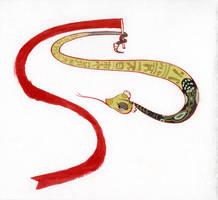 Viper the Ribbon Dancer by CheiftainMaelgwyn