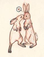 Pyro Bunnies by CheiftainMaelgwyn
