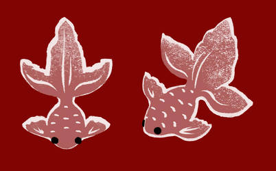 Textile Goldfish by CheiftainMaelgwyn