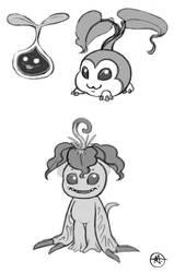 Digimon Palmon SUB by CheiftainMaelgwyn